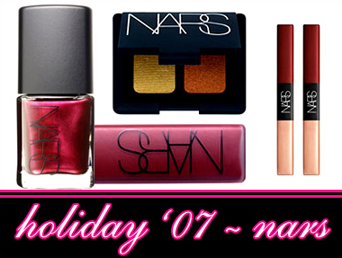 NARS COSMETICS HOLIDAY 2007 COLLECTION