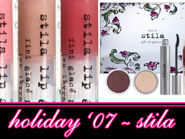 STILA COSMETICS HOLIDAY 2007 COLLECTION