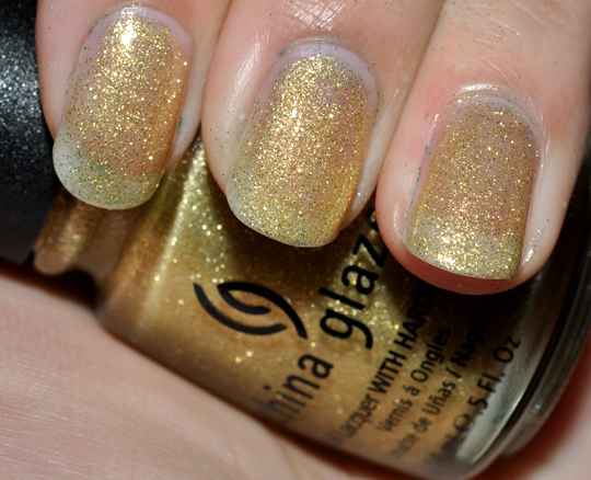 China Glaze 5 Golden Rings Nail Lacquer