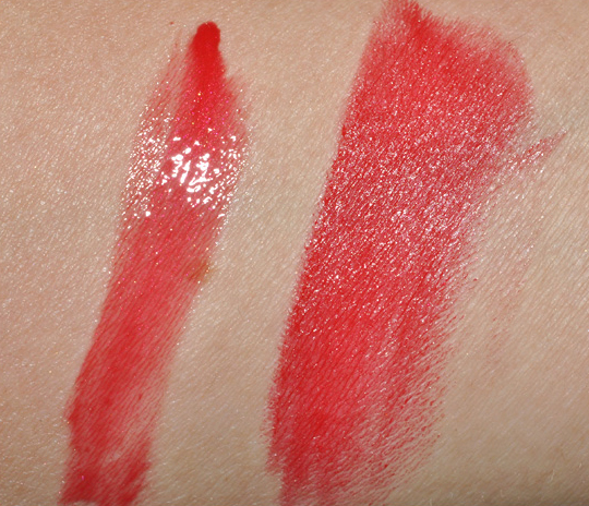 L'Oreal Plumped Red Lipgloss