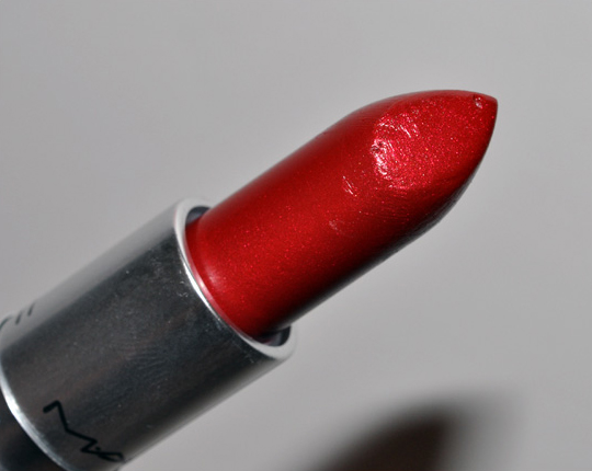 MAC Port Red Lipstick