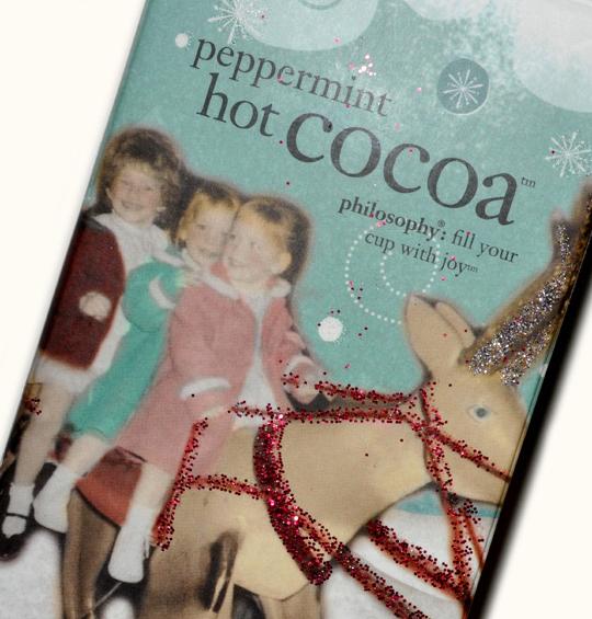 Philosophy:  Peppermint Hot Cocoa Shower Gel