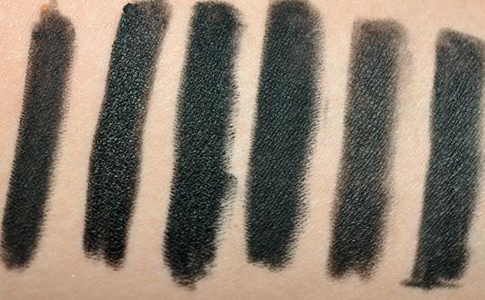 Black Eyeliner Comparison