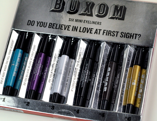 Bare Escentuals Buxom Do You Believe in Love at First Sight? Eyeliner Set