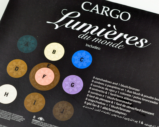 Cargo Lumieres du Monde Palette