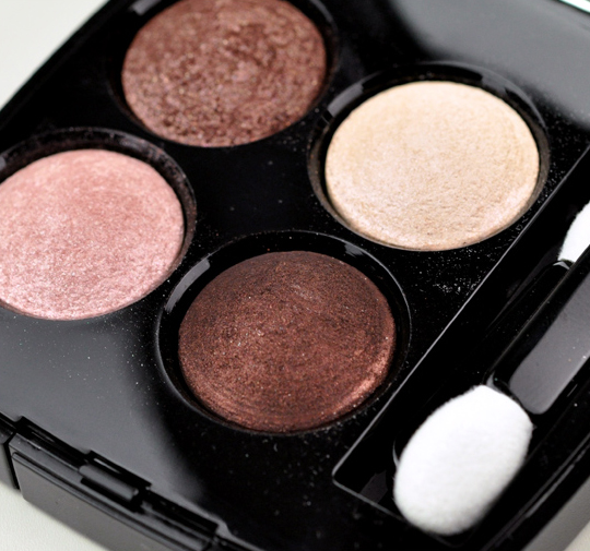 Chanel Tentation Cuivree Eyeshadow Quad