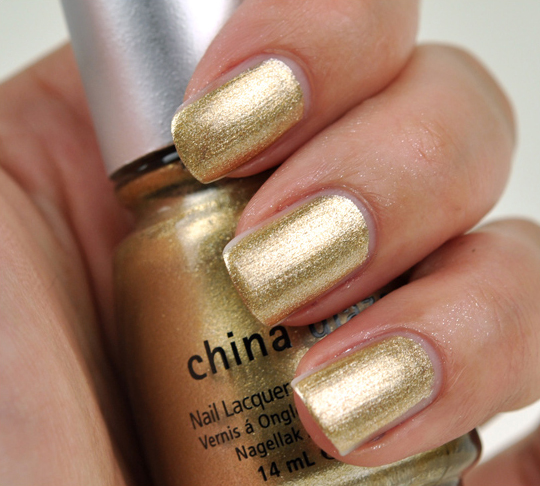 China Glaze Holiday 2010