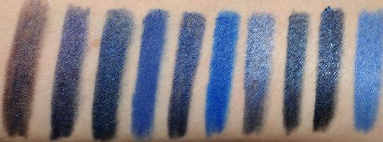 Dark Navy Blue Eyeliner Comparisions Amp Dupes