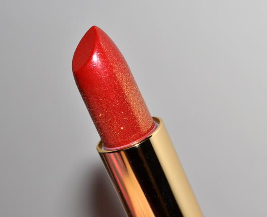 Estee Lauder Extravagant Red Lipstick