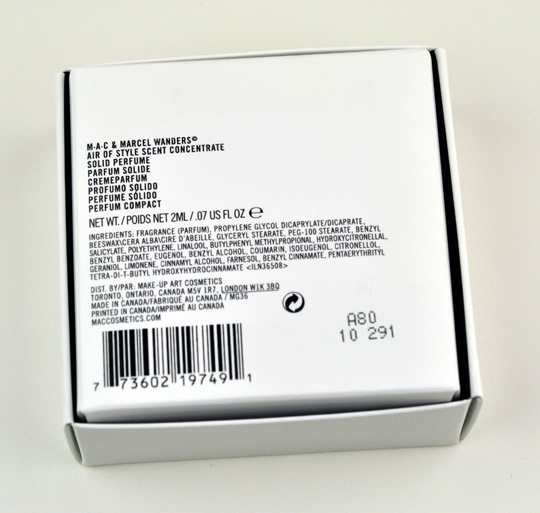 MAC Air of Style Scent Concentrate