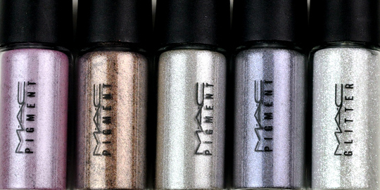 MAC Cool Thrillseekers Pigments/Glitter Set