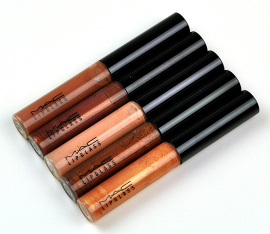 MAC Sassy Neutral Lassies Lipglass Sets
