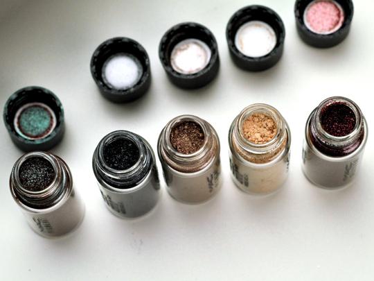 MAC Smoky Thrillseekers Pigments/Glitter Set