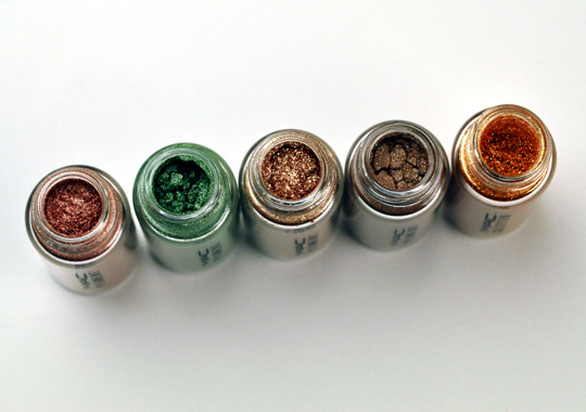 MAC Warm Thrillseekers Pigments/Glitter Set