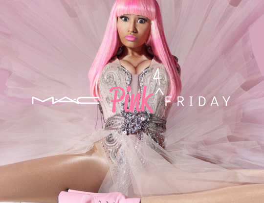 MAC Nicki Minaj Pink 4 Friday Lipstick