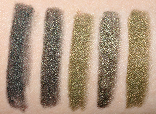 Khaki Amp Olive Green Eyeliner Comparisons Amp Dupes