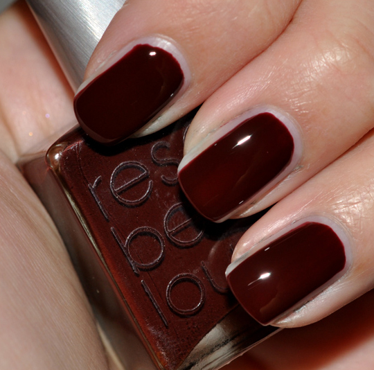 Rescue Beauty Lounge Au Chocolat Nail Lacquer