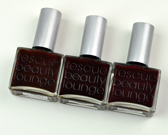Rescue Beauty Lounge Red Polishes