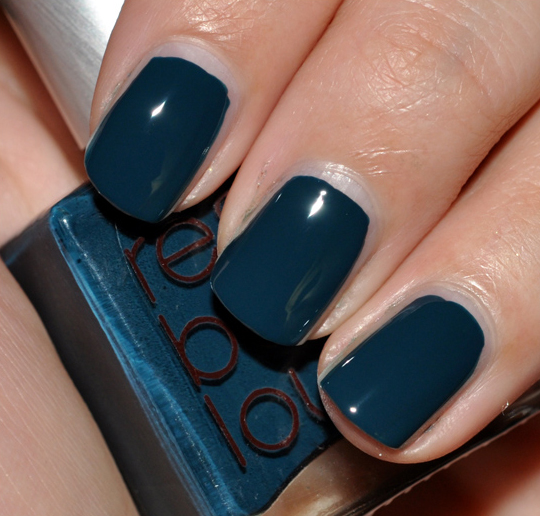 Rescue Beauty Lounge Teal Nail Lacquer