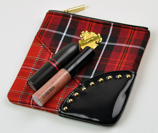 MAC Tartan Tale:  Viva Glam Lip Bag
