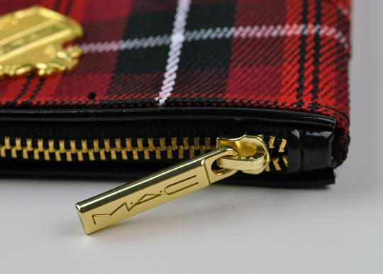 MAC Tartan Tale:  Viva Glam Lip Bag