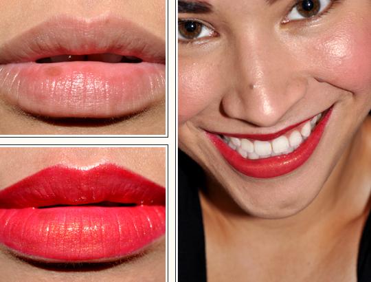 Rimmel Berry Queen Lipstick + NYX Blonde Pearl EYeshadow