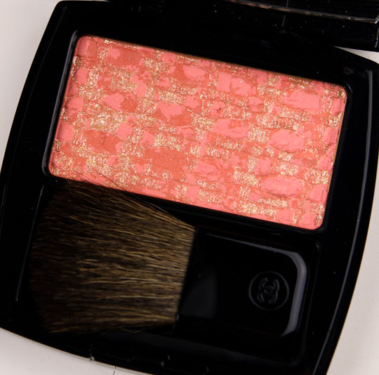 Chanel Tweed Brun Rose Les Tissages de Chanel