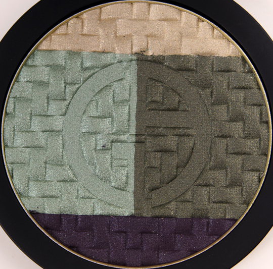 Giorgio Armani Green Jacquard Eye Palette