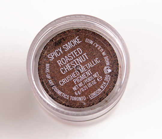 MAC Smoky Berry Crushed Metallic Pigment Kit