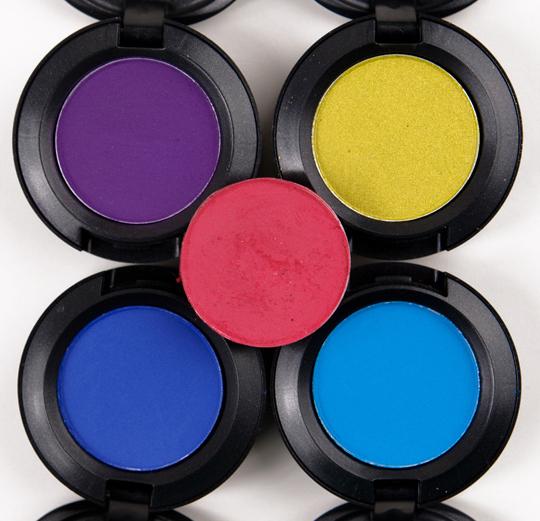 MAC Fall Colour Eyeshadows