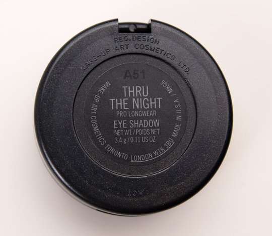 MAC Thru the Night Pro Longwear Eyeshadow