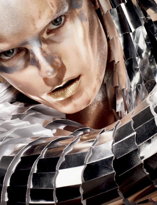 Тени Metal-X Cream Eyeshadows коллекция Зима-2011 от MAC  фото 1