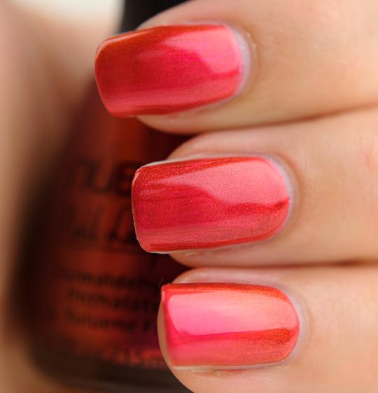 Nubar Pink Flame Nail Lacquer