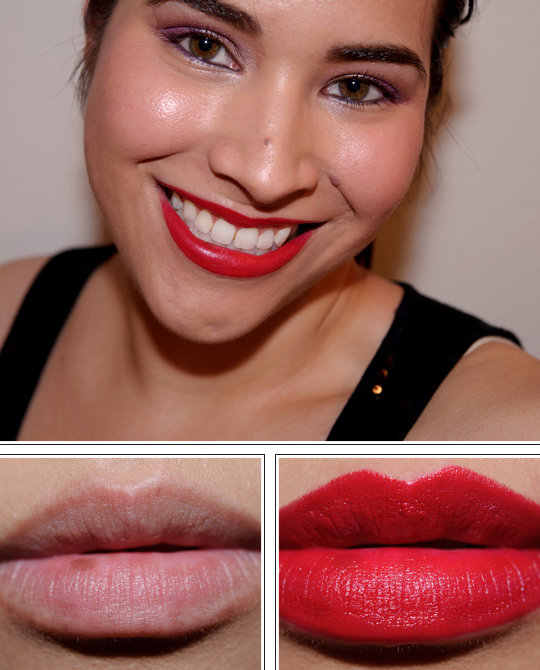 NYX Chic Red Round Lipstick