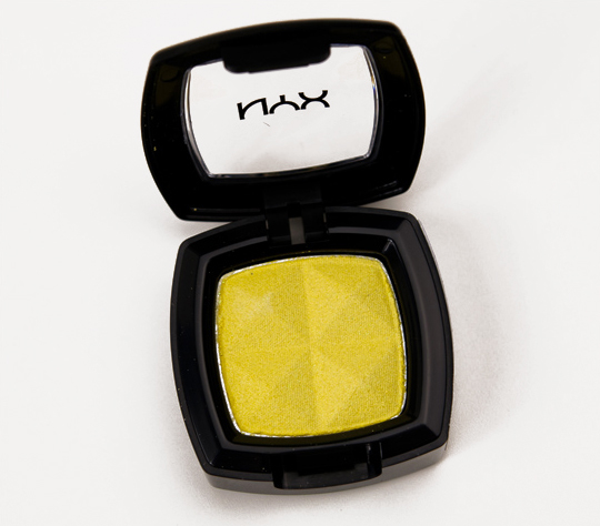 NYX Hot Yellow Eyeshadow