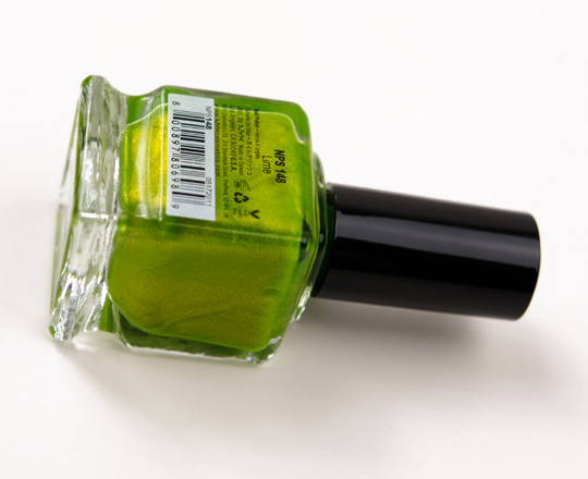 NYX Lime Nail Lacquer
