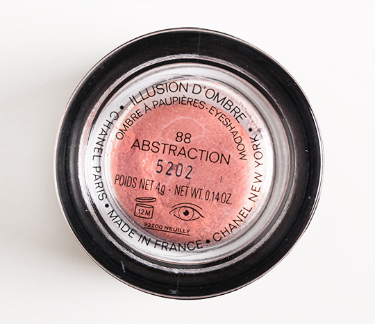 Chanel Abstraction Illusion d'Ombre Long Wear Luminous Eyeshadow