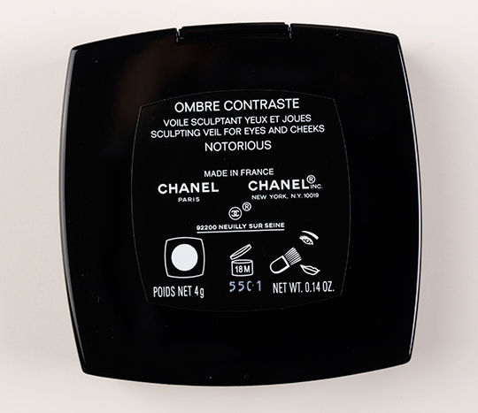 Chanel Notorious Ombre Contrast / Sculpting Veil