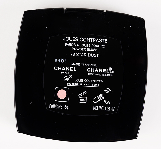 Chanel Star Dust Joues Contraste