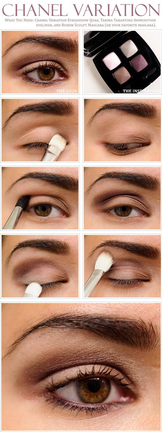 Chanel Variation Eyeshadow Quad Review 3173fbb99b71