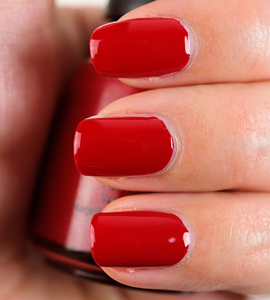 China Glaze Adventure Red Y Nail Lacquer