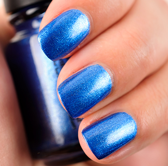 China Glaze Blue Bells Ring Nail Lacquer