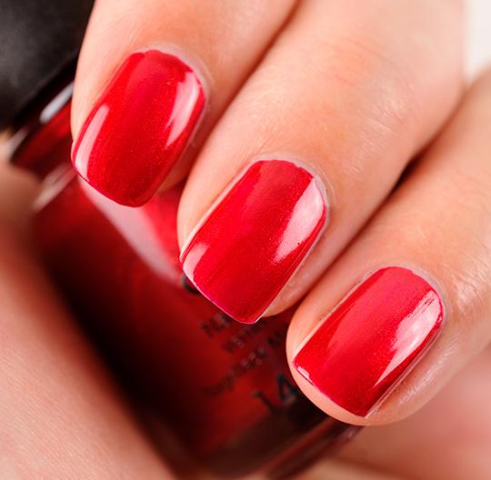 China Glaze Cranberry Splash Nail Lacquer