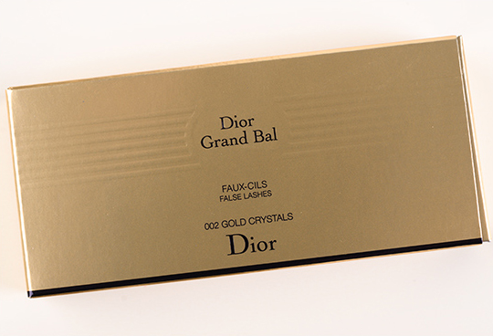 Dior Gold Crystals False Eyelashes