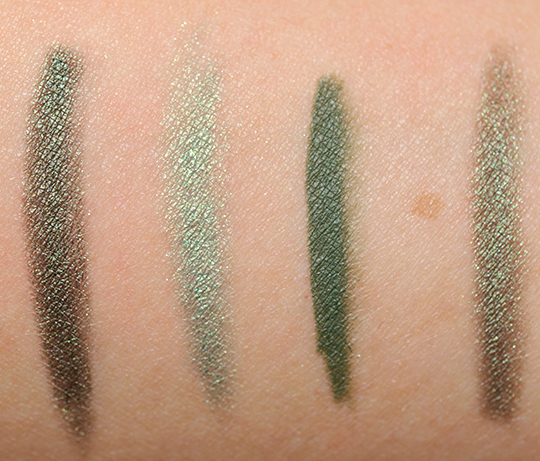 Dark Green Eyeliners