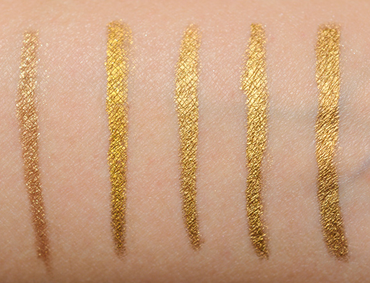 Gold Eyeliners