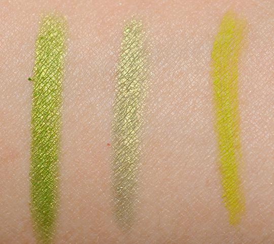 Green Eyeliners