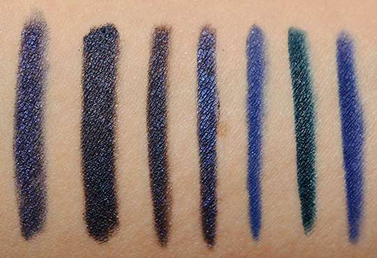 navy blue eyeliners swatches dupes and comparisons. Black Bedroom Furniture Sets. Home Design Ideas