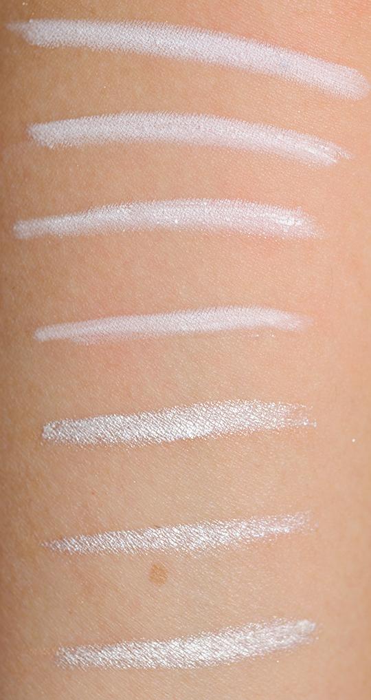 White Eyeliners