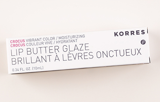 Korres Crocus Lip Butter Glaze